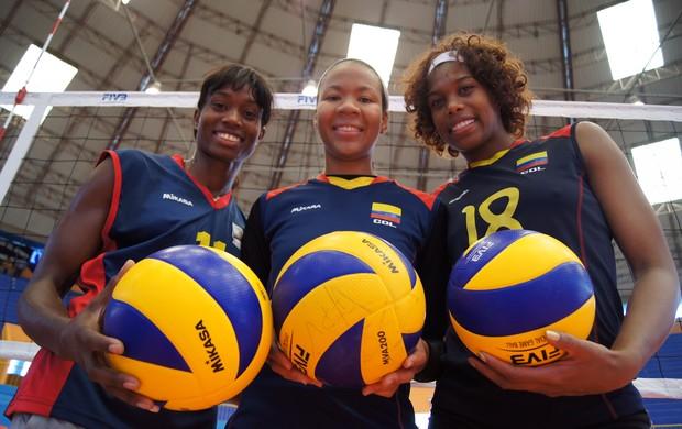 Madelaynne Montaño, Paola Ampudia e Cindy Maria Ramirez (Foto: Thierry Gozzer)