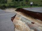 Rodovias continuam interditadas na Zona da Mata e Vertentes após chuvas