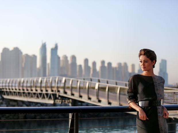 Sophie Charlotte grava primeira cenas de Babilônia em Dubai (Foto: Isabella Pinheiro/Gshow)