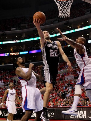 nba Ginobili Spurs x Clippers  (Foto: Getty Images)