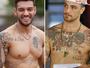 Felipe Titto ou Lucas Lucco? Você consegue reconhecer o boy pela tatuagem?