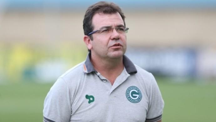 Enderson Moreira, técnico do Goiás (Foto: O Popular)
