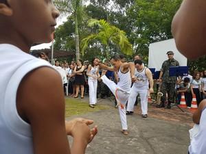 Atividades em alusão ao Dia Internacional da Síndrome de Down foram realizadas em Cruzeiro do Sul (Foto: Anny Barbosa/G1)
