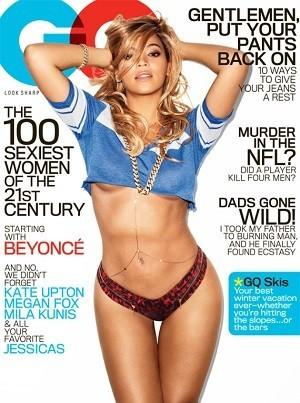 Beyoncé é capa da edição de fevereiro da 'GQ' (Foto: Divulgação)