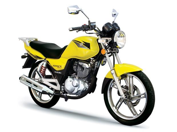 Suzuki GSR125 (Foto: Divulgação)