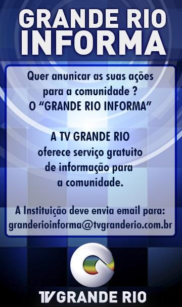TV Grande Rio oferece serviço gratuito de informação para a comunidade.  (Foto: Divulgação/Paulo César)