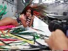 Amanda Djehdian sobre preparação para o carnaval: 'Estou uma delícia'