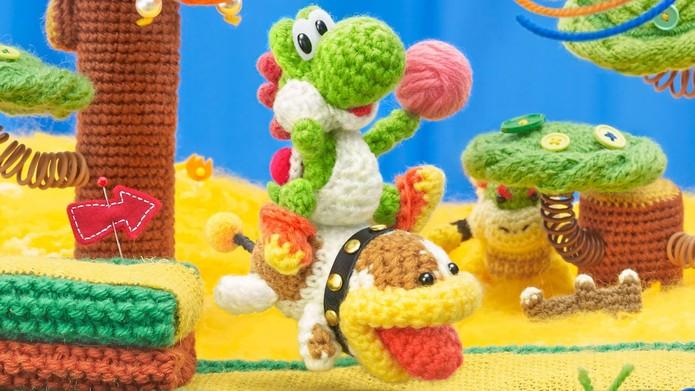 Poochy & Yoshis Woolly World (Foto: Divulgação/Nintendo)