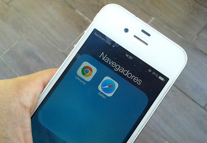Como limpar o histórico de navegação do Safari do iPhone? (Foto: Marvin Costa/TechTudo) (Foto: Como limpar o histórico de navegação do Safari do iPhone? (Foto: Marvin Costa/TechTudo))