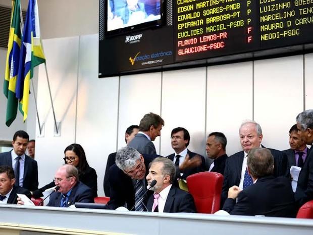 Orçamento de 2015 de Rondônia será de R$ 7,3 bilhões (Foto: Assembleia Legislativa/Divulgação)