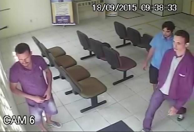 Quem tiver informações sobre os suspeitos pode ligar para o Disk Denúncia (Foto: Divulgação/Polícia Federal)