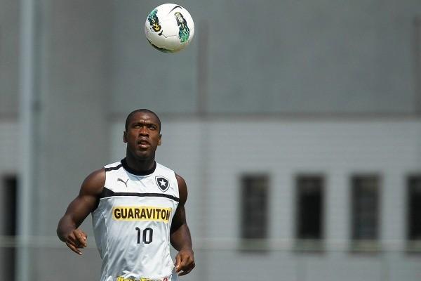 Seedorf Botafogo (Foto: Wagner Meier/Agif))