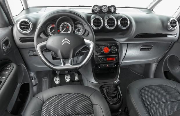 Citroën AIRCROSS interior (Foto: Divulgação)