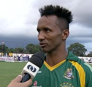 Lucio Bala jogador do Gurupi  (Foto: Reprodução/TV Anhanguera)