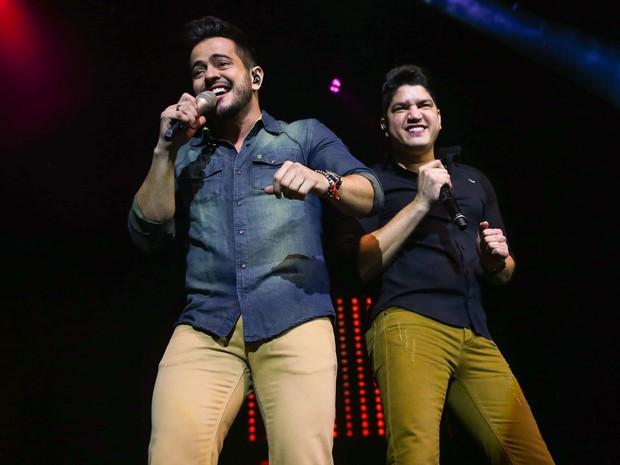 Henrique e Diego fazem show em São Paulo (Foto: Manuela Scarpa/ Foto Rio News)