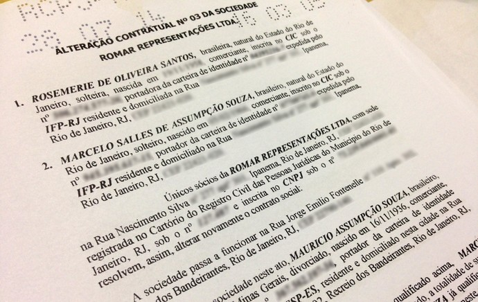 documentos Botafogo financeiro (Foto: Reprodução)