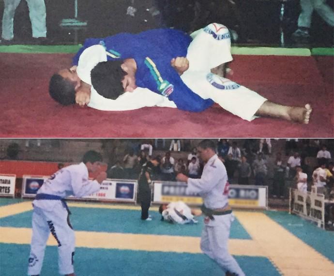 Rômulo não esconde o seu amor pelo esporte: 'Amo o jiu-jitsu' (Foto: Arquivo pessoal)