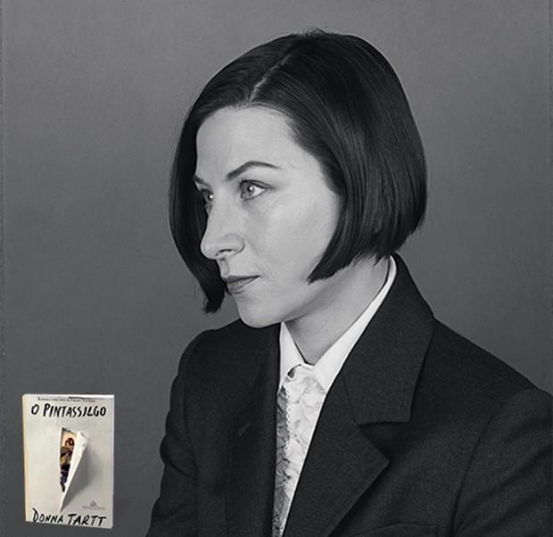 IMORTAL OU PERECÍVEL? A escritora Donna Tartt em retrato de 2003. Seu romance O pintassilgo foi considerado uma obra-prima (Foto: Grant Delin/Corbis/Latinstock e divulgação)