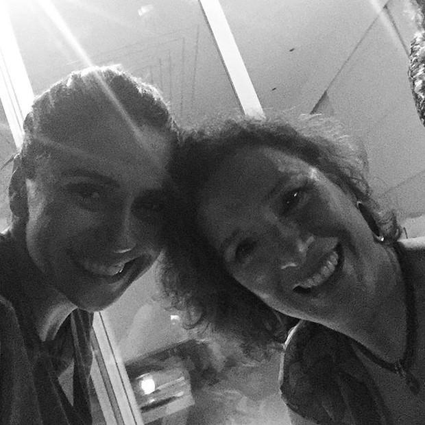 Giovanna Antonelli e Nátalia do Vale em festa (Foto: Instagram/ Reprodução)