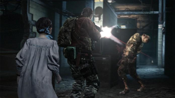 Clássico personagem Barry Burton volta para enfrentar zumbis em Resident Evil Revelations 2 (Foto: GameSpot)