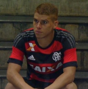 Gustavo Cuéllar, Cuéllar, Flamengo (Foto: Reprodução/Instagram)