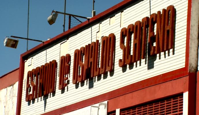 Estádio Oswaldo Scatena Batatais (Foto: Reprodução EPTV)