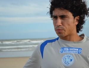 Marcelo Lanza quer mais um título, agora pelo Confiança (Foto: Felipe Martins/GLOBOESPORTE.COM)