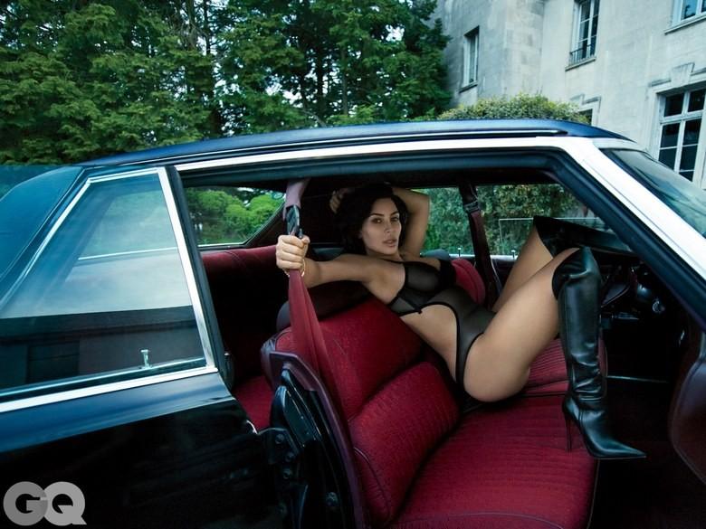 Kim Kardashian (Foto: Reprodução/GQ)