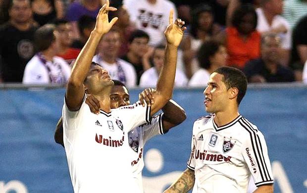 Gum gol Fluminense Orlando (Foto: Fluminense. F.C.)
