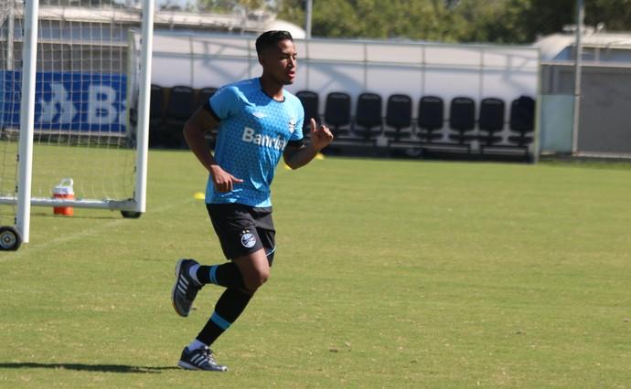 Matheus Biteco Grêmio  (Foto: Eduardo Moura/GloboEsporte.com)