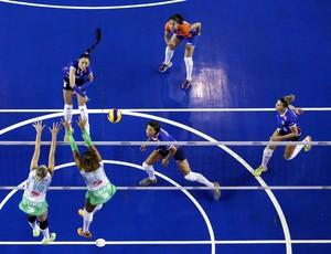 Minas x Brasília, pela Superliga Feminina (Foto: Orlando Bento / Minas Tênis)
