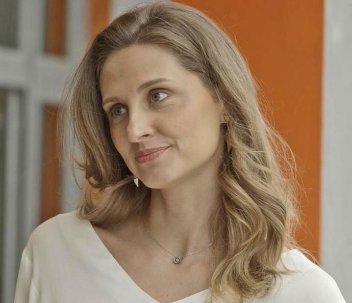 Será que Caio vai acreditar em Tita? (Foto: TV Globo)