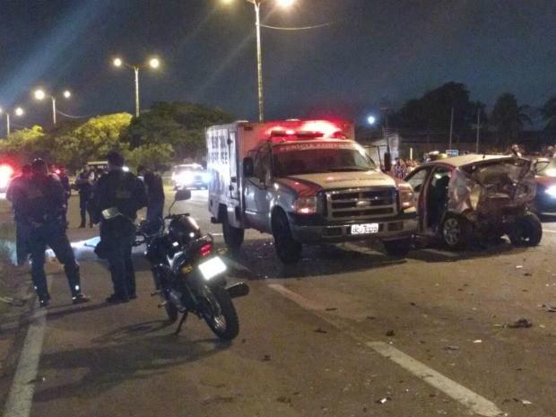Homem em fuga colide em carro e mata três mulheres em Fortaleza (Foto: Arquivo pessoal)