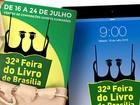Com 'tributo ao mestre', começa neste sábado a '32ª Feira do Livro de Brasília'