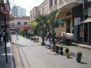 Rua Pio XII Formiga MG  (Foto: Prefeitura de Formiga/Divulgação)