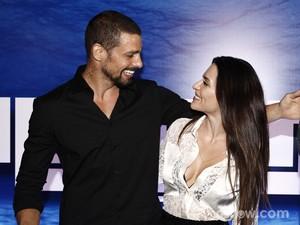 Cauã e Cleo viveram uma relação conturbada (Foto: Inácio Moraes/TV Globo)