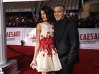 George Clooney leva a mulher a première de filme nos Estados Unidos