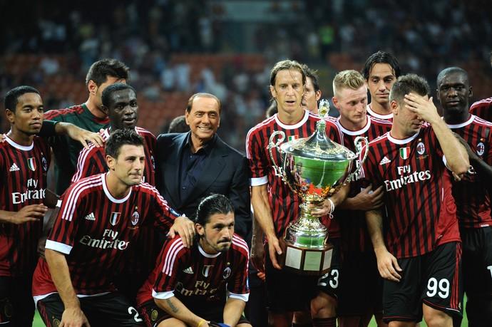 Silvio Berlusconi Campeonato Italiano 2011 (Foto: AFP)