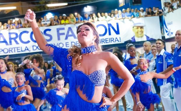 Bianca Monteiro, nova rainha de bateria da Portela (Foto: Leo Cordeiro / Divulgação)