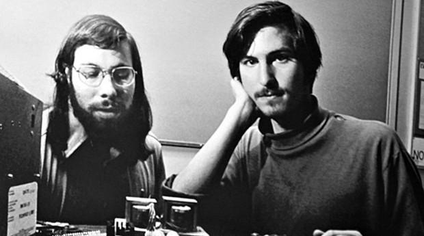 Stephen Wozniak e Steve Jobs: eles inspiram a indústria da computação (Foto: Reprodução )