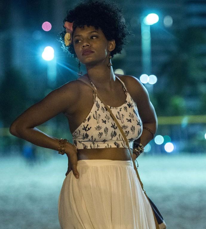 Jéssica Ellen será Rose, uma das protagonistas de Justiça (Foto: Globo/Estevam Avellar)