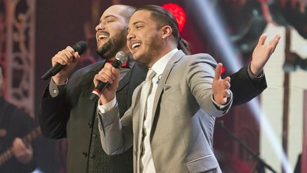 Thiago Abravanel canta com Wesley Safadão no especial inédito Presente de Natal (Foto: Globo)