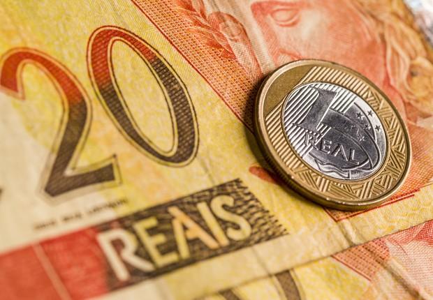 dinheiro - nota - real - mercado - economia - juros - contas públicas - bc - focus - deficit  (Foto: Thinkstock)