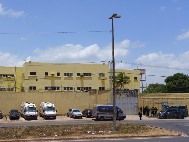 Fachada do Complexo Penitenciário de Pedrinhas (Foto: César Hipólito/TV Mirante)