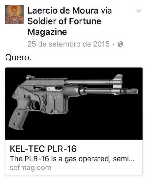 Laércio (Foto: Facebook / Reprodução)