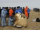 Sonda lunar chinesa retorna à Terra com sucesso