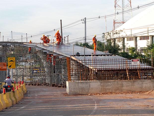 Viaduto da Sefaz (Foto: Edson Rodrigues/Secopa)
