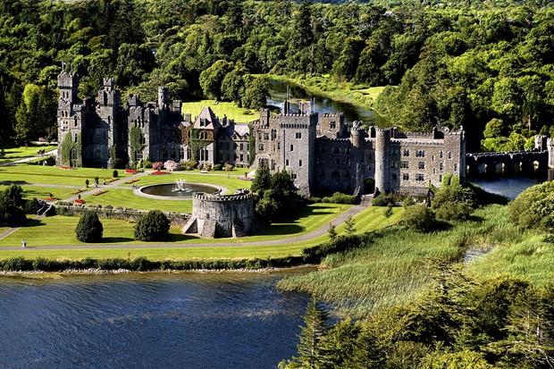 Ashford Castle, na Irlanda  (Foto: Reprodução/Thousand Wonders)