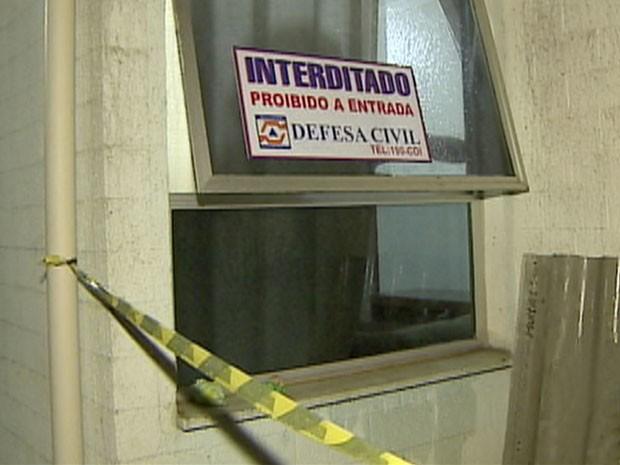 Prédio Defesa Civil - São José dos Campos (Foto: Reprodução/TV Vanguarda)