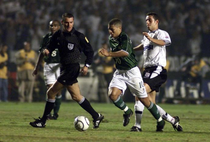 Palmeiras x Corinthians, 2000, Edilson Pereira de Carvalho (Foto: JF Diorio / Agência Estado)